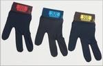 Renzline handschoen zwart- band met kleur per stuk